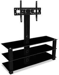 Led Tv Stands And Furniture Amazon Com Mount It Mi 866 Tv Stand With Mount Entertainment