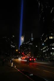 lighting world staten island the tribute in light is seen beaming above the new york city sky