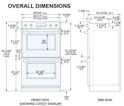 wall oven cabinet width double wall oven measurements wall oven dimensions wall oven cabinet