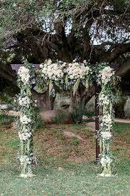 wedding arches target sweet and pretty orange wedding