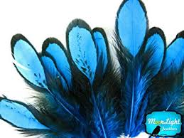 moonlight feathers moonlight feather blue laced hen feathers for