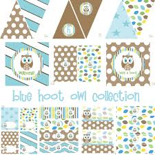 Baby Boy Centerpieces For Baby Shower - owl baby shower decorations boy baby shower decoration