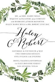 Wedding Invitations San Antonio Featured Listing Image Brush Calligraphy Style Wedding