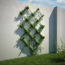 wire trellis with wood frame u2013 outdoor decorations