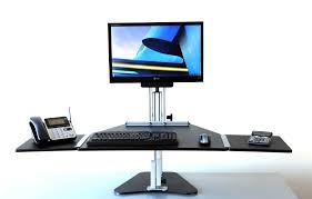 Adjustable Height Desk by Kangaroo Pro Adjustable Height Desk Ergo Desktop