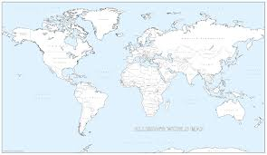 World Map Large by Cosmographics New Map Products To Buy Map News Case Studies