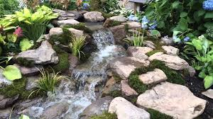 leaking pond waterfall repair harford county md maryland