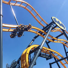 Six Flags Rollercoaster Batman The Ride At Six Flags Fiesta Texas Worth The Wait
