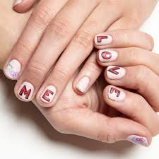 love me nail art step by step tutorial nail it