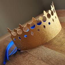 Royal Crown Home Decor Party Crowns