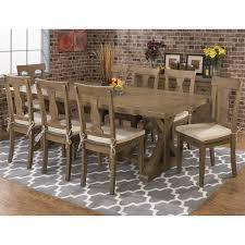 jofran 941 97 slater mill reclaimed trestle dining table