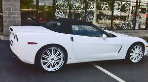 2006 corvette convertible chevrolet c6 convertible vendetta gallery mht wheels inc