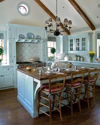 kitchen paint colors with oak cabinets blue design accent color on