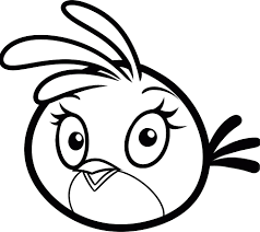 angry birds stella coloring pages coloring page for kids kids