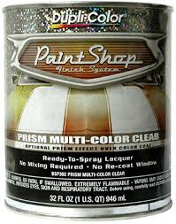 dupli color paint shop prism multi color clear coat 32 oz