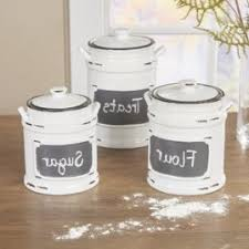 prime white kitchen canister sets