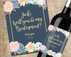 Asking To Be Bridesmaid Ideas Asking Bridesmaid Etsy