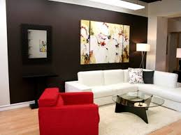 bold red paint for diy living room 4 home ideas