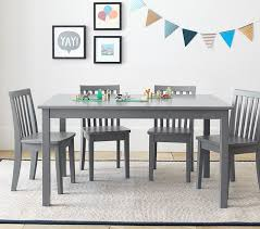 Toddler Table And Chairs Wood Carolina Large Table U0026 4 Chairs Set Pottery Barn Kids