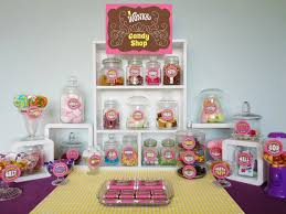 willy wonka candy shop signs candy buffet jar labels wonka