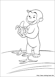 curious george coloring sheet kids fun 30 coloring pages