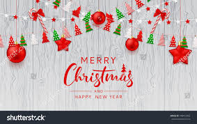 merry christmas web banner template festive stock vector 748472482
