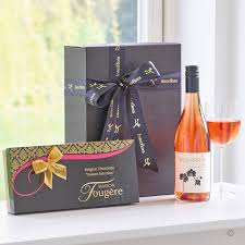 wine gifts delivered wine dessert chocolates gift box delivery isle of wight