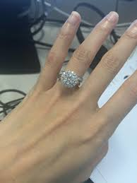 my wedding ring i just reset my engagement ring is it tacky the knot