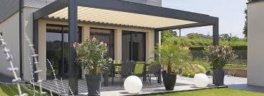 Louvered Roof Pergola by Denver Shade Company 3 Renson Camargue Louvered Roof Motorized