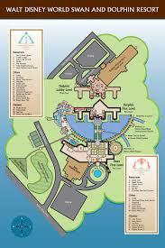 Epcot Center Map Walt Disney World Swan Resort Doctor Disney