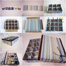how to diy cardboard storage box with dividers cardboard storage