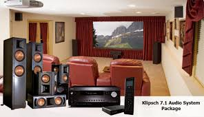 klipsch home theater speakers 5 1 slh home systems audio home theater packages