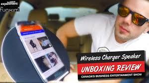 funxim moonsonata bluetooth charger u0026 speaker unboxing review