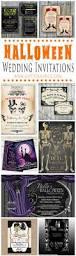 Halloween Card Invitation Best 25 Halloween Wedding Invitations Ideas On Pinterest Gothic