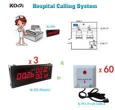 wireless calling system patient emergency push call button nurse