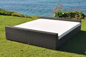 Wicker Beds Outdoor Furniture Beds Pretty Inspiration Ideas Outdoor Daybed