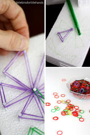 geo flower steam craft and mother u0027s day gift for kids to make