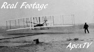 first camera ever made wright brothers first flight rare footage youtube