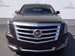 2015 used cadillac escalade 4wd 4dr luxury at honda mall of