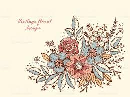 Floral Invitation Card Designs Flower Garland Template For Invitation Card Vintage Floral