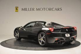 Ferrari California 1965 - 2012 ferrari 458 spider stock f1720a for sale near greenwich ct