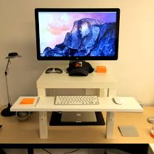 Stand Up Desk Ikea Hack by Bedroom Ravishing Sitting Standing Desk Combo Ikea Hackers Diy