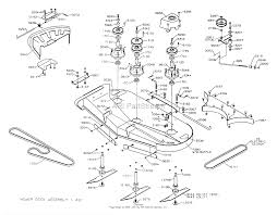 dixon ztr 5023 2003 parts diagram for mower deck 50