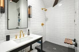 Backsplash Bathroom Ideas by Bathroom Blue Subway Tile Shower White Tile Bathroom Ideas White