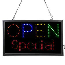 lighted message board signs artistic office products led signs and sign holders