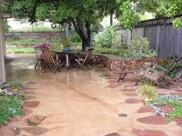 Concrete Patio Floor Paint Ideas by Cover Concrete Patio Ideas Home Outdoor Decoration