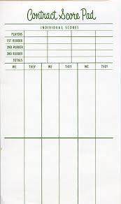 downloads bridge score sheet free yahtzee score sheet template 7
