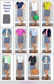 striped pencil skirt dress ala at3ways stripe shirt from the desk of pencil