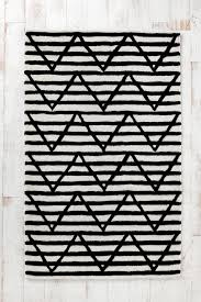 Black Striped Rug Assembly Home Between The Lines Tufted Rug Urbanoutfitters Kids