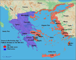 greece map political map of archaic greece illustration ancient history encyclopedia